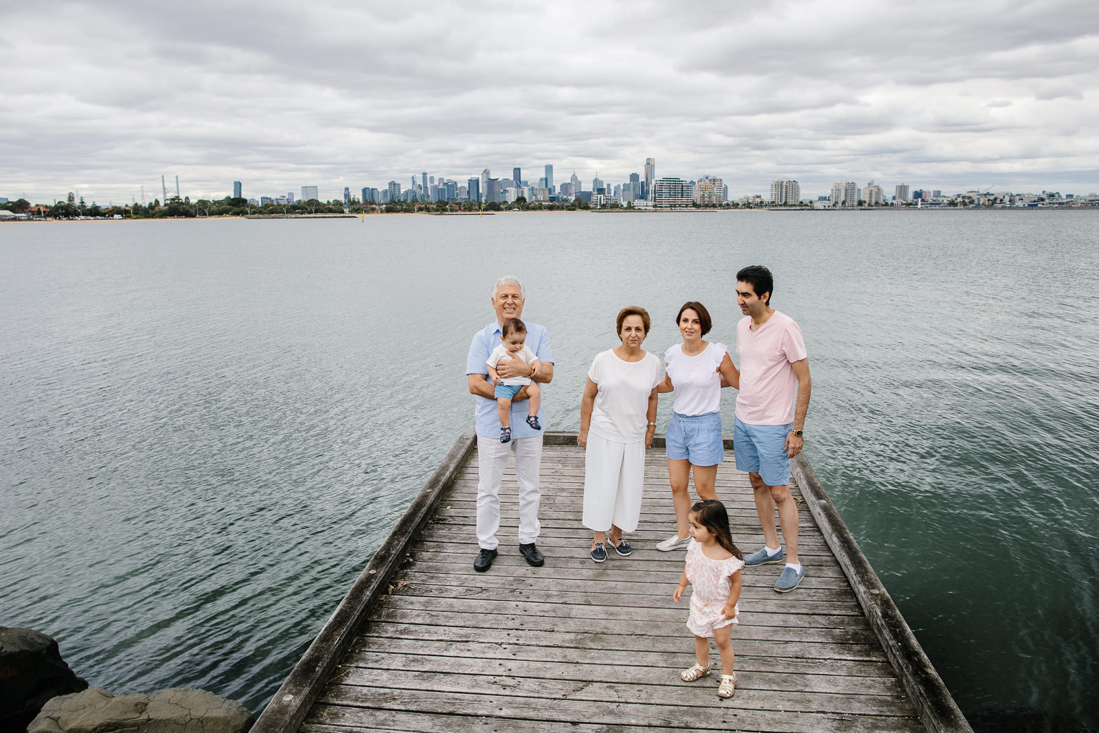 Melbourne beaches and ocean locations for family photos - candid and natural photos in Melbourne